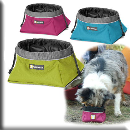 Ruffwear Quencher Cinch Top Dog Food Bowl