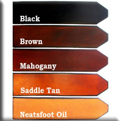 Leather Color Samples
