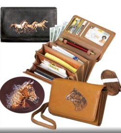 Kingport Leather Hand Organizer Wallet