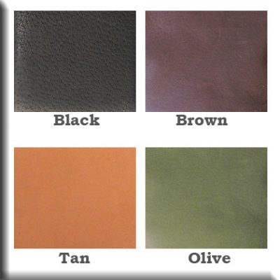 Kingport Leather Color Samples