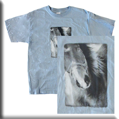 Kelly Winter Horse T Shirt